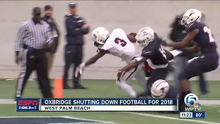 Oxbridge Academy shutting down football for 2018