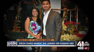 Widow shares moment she knew husband was killed in Austin's shooting - Video