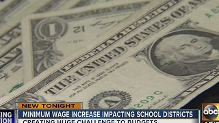 School districts in Valley feeling strain of minimum wage hike - Video