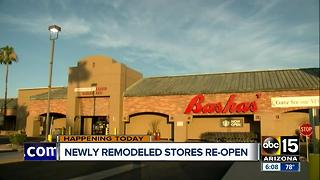Newly remodeled Bashas' stores to reopen in Mesa - Video