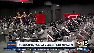 Happy Birthday to Cyclebar! Weekend bash full of freebies for you - Video