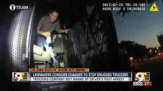 Lawmakers consider changed to stop drugged truckers - Video