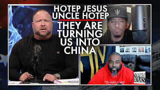 Hotep Jesus: They Are Turning Us Into China