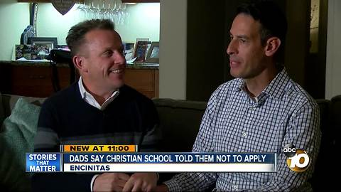 Dad says Christian school told them not to apply