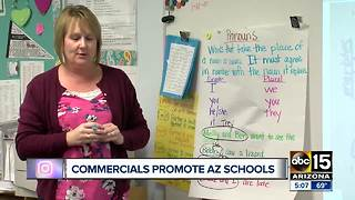 Commercials appear to start promoting Arizona schools - Video