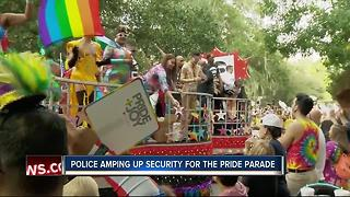 Police amp up security for St. Pete Pride - Video