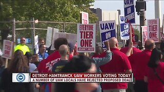 Number of UAW locals reject proposed deal