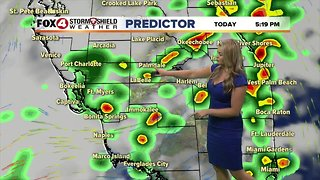 FORECAST: Showers & storms expected Tuesday