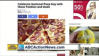 Celebrate National Pizza Day with these freebies and deals - Video