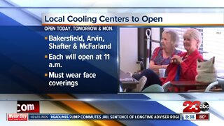 Local cooling centers to open during triple digit heat wave