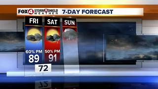 More Rain Chances 6-15 - Video