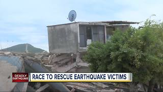 Crews in Mexico race to rescue victims of 7.1 magnitude earthquake - Video