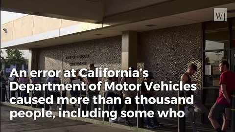 California DMV Admits Voter Registration Failure, Noncitizens Added to Voter Rolls