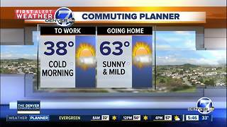 Tuesday forecast: Sunny and mild - Video