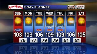 13 First Alert Las Vegas Weather August 18 Morning