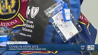 Glendale firefighters helping families cope with COVID-19 hope kits