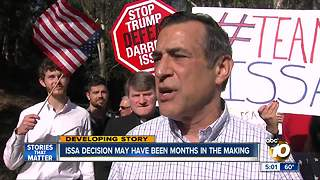 Issa decision may have been months in making - Video