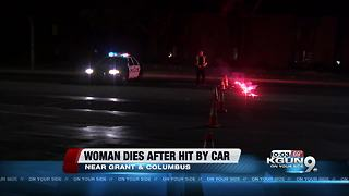 Woman dies in hospital after being hit by a car 3 days ago - Video