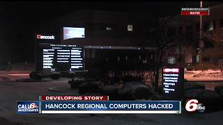 Hackers seize Hancock Regional Hospital computer system, demand ransom - Video