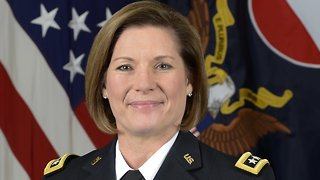 First Woman Leads U.S. Army's Largest Command