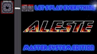 Let's Play Everything: Aleste