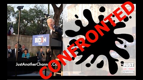 Joe Biden CONFRONTED in San Antonio, TX 12/13/2019 [ORIGINAL RECORDING]