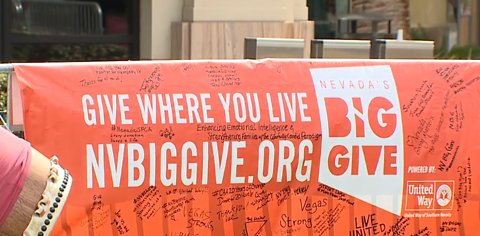 Vegas community supporting NV Big Give event