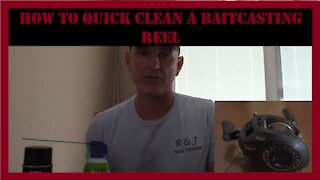 How To Do A Quick Clean On A Baitcasting Reel