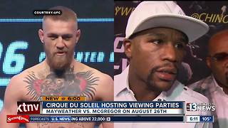 Cirque du Soleil shows go dark for Mayweather-McGregor fight - Video