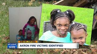 Two children critically injured in Akron house fire have died - Video