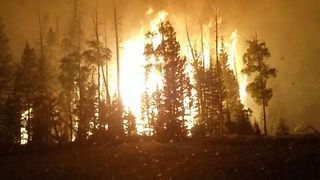 Utah's Brian Head Fire Reaches 53,000 Acres - Video