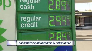 Michigan gas prices may rise to highest since 2015 - Video