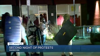 2nd night of protests in Wauwatosa after Mensah decision