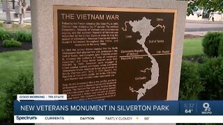 New Vietnam War monument unveiled on Memorial Day