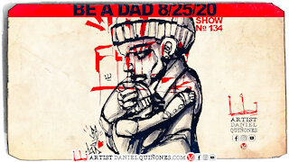 Ba a Dad art without picking up pen.