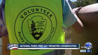 National Public Lands Day brings crowds to Rocky Mountain National Park