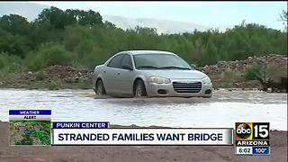 Flooding at Punkin Center in the Tonto Basin - Video
