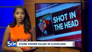 Cleveland business owner shot and killed in robbery - Video