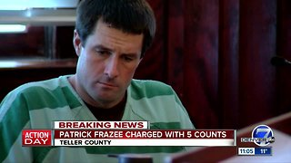 Patrick Frazee formally charged with murder in case of missing mom Kelsey Berreth