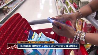 Retailers tracking your every move in stores - Video