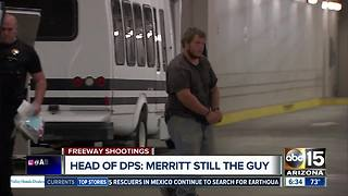 DPS still believes Leslie Merritt is the freeway shooting suspect - Video