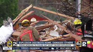 Residents affected by home explosion grateful the incident wasn't worse