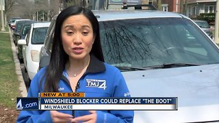 "Windshield blocker could replace ""The Boot"""