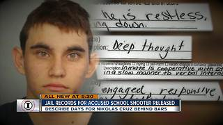 I-Team: Jail records reveal Nikolas Cruz was seen laughing in jail days after Parkland school shooting | WFTS Investigative Report - Video