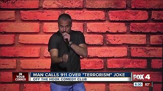 Comedian's joke about Middle Easterners leads a man to call police