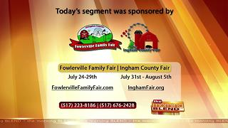 Ingham County Fair/ Fowlerville Family Fair- 7/18/17 - Video