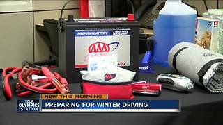 AAA offers winter driving tips - Video