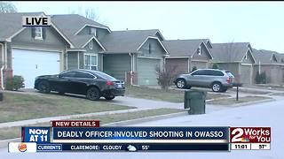 Man shot, killed by Owasso police - Video