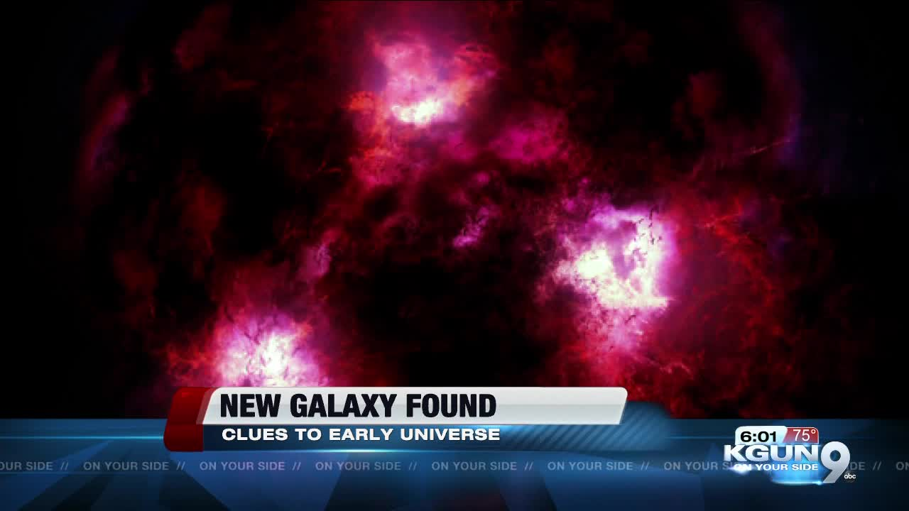 UA leads discovery of elusive new galaxy