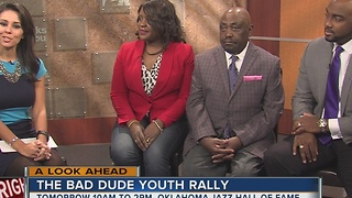 Terence Crutcher's familly hosting The Bad Dude Youth Rally - Video
